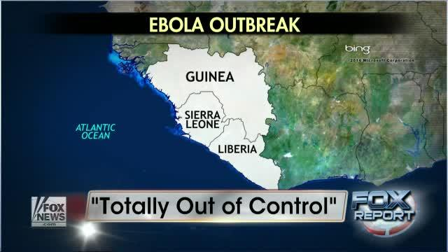 Ebola outbreak in Africa is 'out of control'
