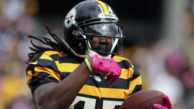 Steelers' Sammie Coates activated from PUP list day after son born