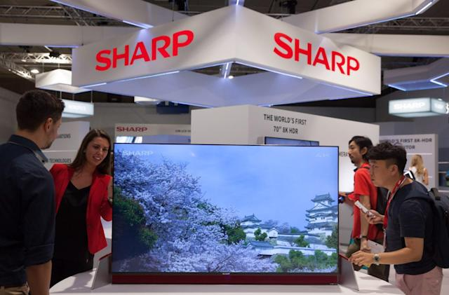 Sharp wants a 'Japan alliance' to boost OLED TV competition