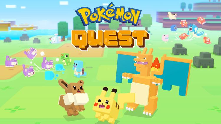 Pokemon Quest' now free to download on iOS and Android