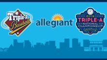 Triple-A Baseball, Allegiant Announce Historic On-Field Jersey Partnership