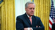 White House chief of staff Mark Meadows reportedly hosted a 70-person wedding for his daughter in May, violating COVID-19 rules