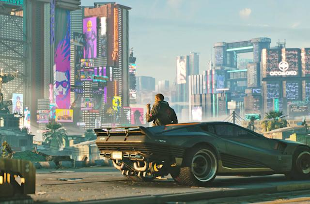 Here's your first look at dystopian RPG 'Cyberpunk 2077'