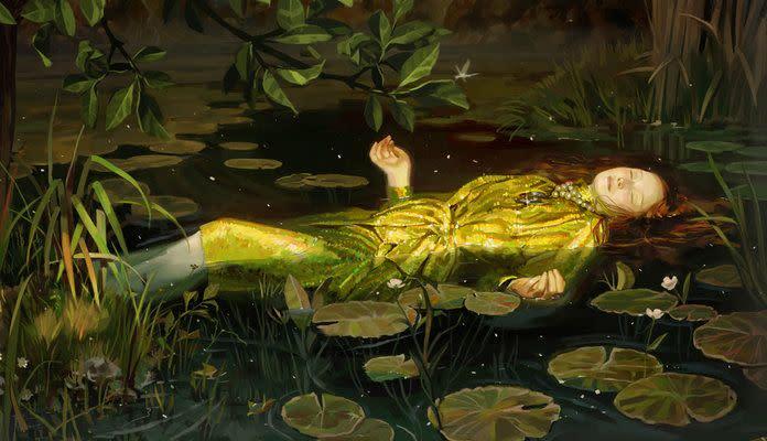 <p>Digital painting by Spanish artist and illustrator Ignasi Monreal.</p>