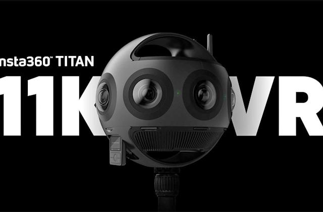 Insta360 Titan is an 11K, eight-lens beast of a VR camera