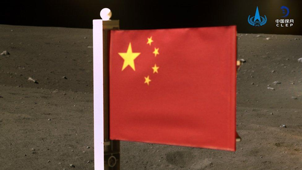 China becomes second nation to plant flag on the Moon – Yahoo News Australia