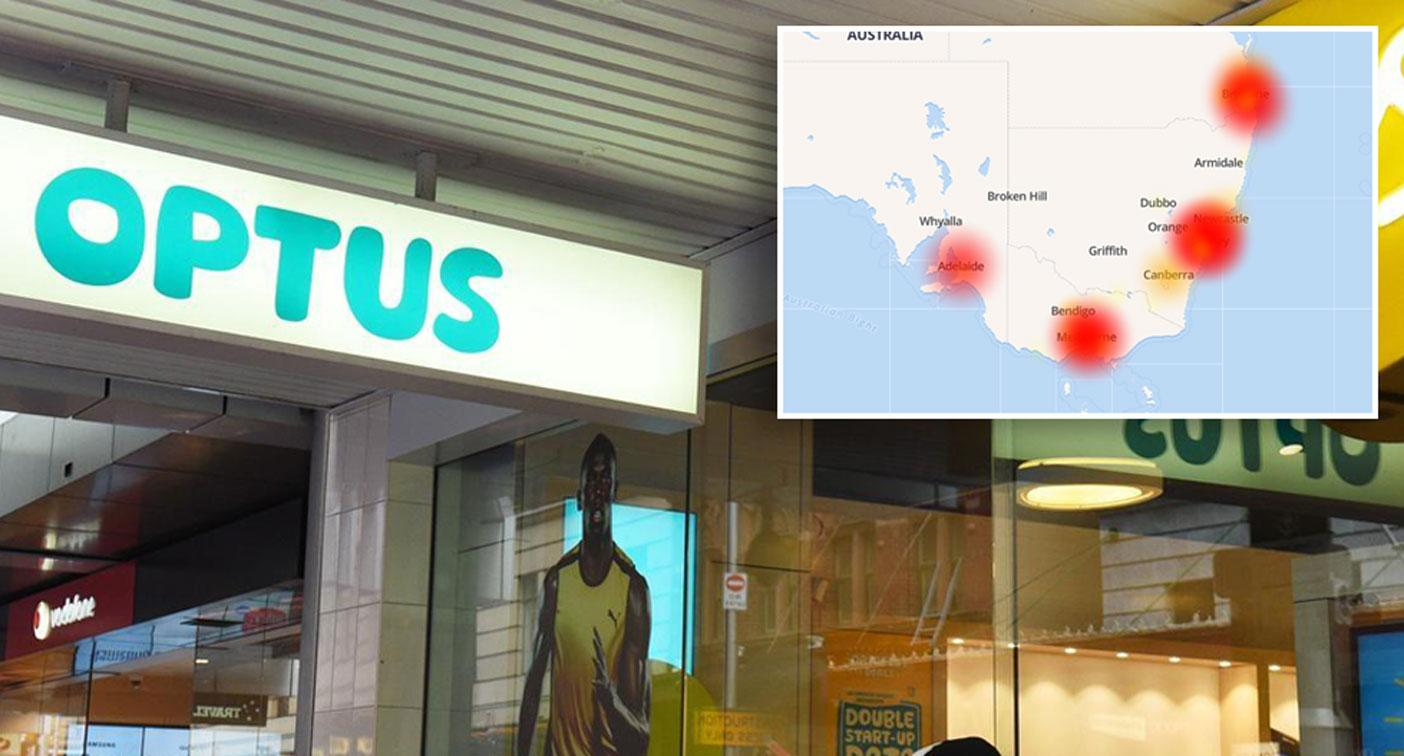 Optus customers unable to make calls in network outage