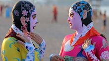 'Facekinis' are the latest beauty trend in China