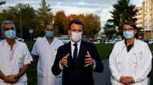 France's Macron: Expect to live with virus at least till mid-2021