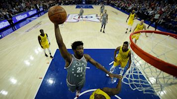 Embiid has big night, runs out of gas in Sixers' loss