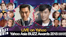 Star-studded Yahoo Asia Buzz Awards to reveal Hong Kong's top celebrities