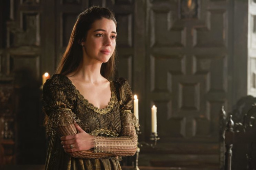 Adelaide Kane as Mary, Queen of Scots in CW's Reign. (Photo Credit: Ben Mark Holzberg/The CW)