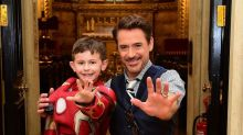 Marvel Star Robert Downey Jr Meets Kids At Great Ormond Street Hospital