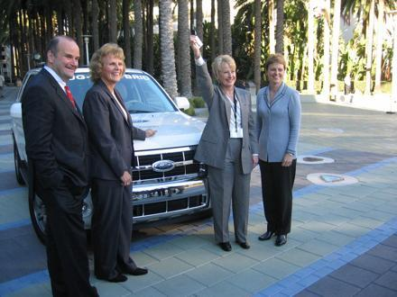 Ford delivers first of 20 plug-in hybrids in California