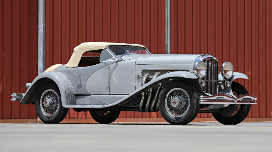 1935 Duesenberg SSJ - most expensive pre-war car and most expensive American car ever auctioned