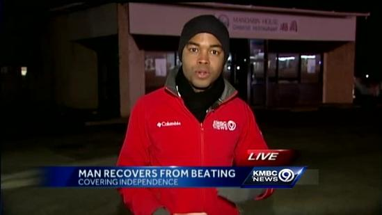Delivery man beaten in robbery out of hospital