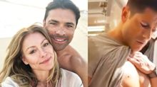 Kelly Ripa Just Posted The Ultimate Thirst Trap Video Of Mark Consuelos Showing Off His Abs