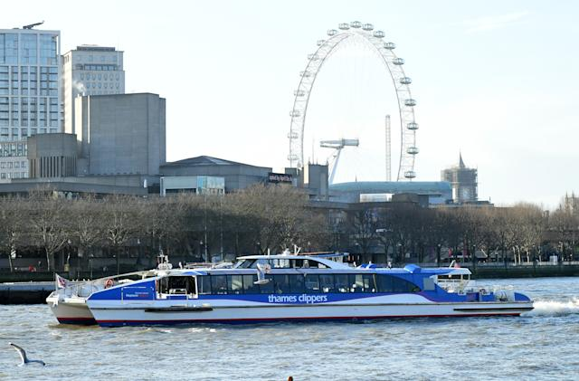 Uber still can't have cars in London, but it's buying a ferry on the Thames