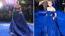 Brie Larson channels her inner superhero in custom Valentino at 'Captain Marvel' London premiere