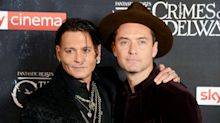 Jude Law Reacts To Johnny Depp's 'Unusual' Exit From 'Fantastic Beasts'
