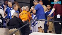 Bolt Falls at Colts Game: Three Fans Hurt in Roof Scare