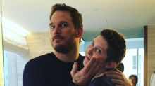 Chris Pratt shows heart — and a glam makeup job — after getting primped with cancer-stricken teen