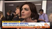 Anne Hathaway to star in new 'The Witches' adaptation