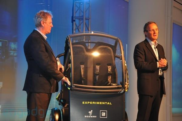 GM and Segway's P.U.M.A. makes its stage debut (with video!)