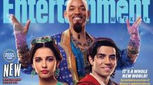 Will Smith's Genie in 'Aladdin' is unveiled — and the internet is freaking out over why he's not blue