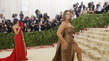 The internet's obsessed with Ashley Graham's thigh at the Met Gala