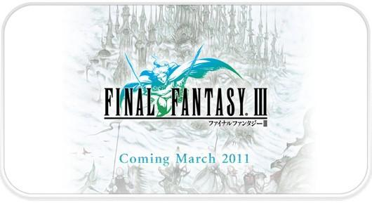 iPhone Final Fantasy III is based on the DS version