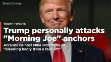 'This is not normal': Trump attack tweets on Brzezinski, Scarborough spark cable news outrage