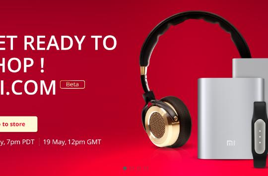 Xiaomi starts small with a UK online accessory store