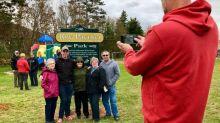 Kensington park honours accomplishments of Island Special Olympian