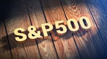 S&P 500 rolling over slightly during Thursday session