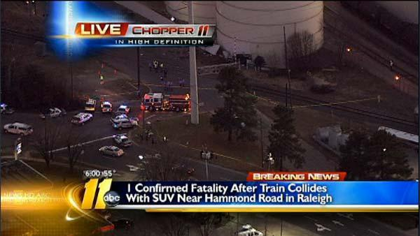 Fatal train accident near Downtown Raleigh