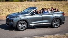 The Ceiling Is the Roof: Hyundai Santa Fe Cabriolet opens a sky of possibilities