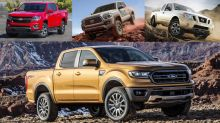 2019 Ford Ranger vs. Tacoma, Colorado, Frontier: We compare their specifications
