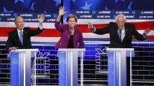 """El """"olvido"""" del nombre de AMLO, protagonista del momento más tenso del debate demócrata en Las Vegas"""