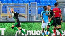 Lazio's Serie A title bid hit again by Sassuolo loss