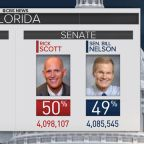 Statewide vote recounts underway in Florida