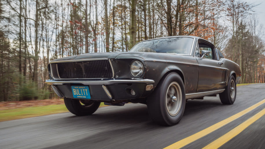 "Original 1968 Ford Mustang from ""Bullitt"""