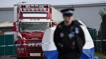Camion charnier en Angleterre: vagues d'interpellations en France, Belgique et Allemagne