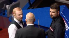 World Snooker Championship 2020: Anthony McGill confronts Jamie Clarke as tensions flare at Crucible