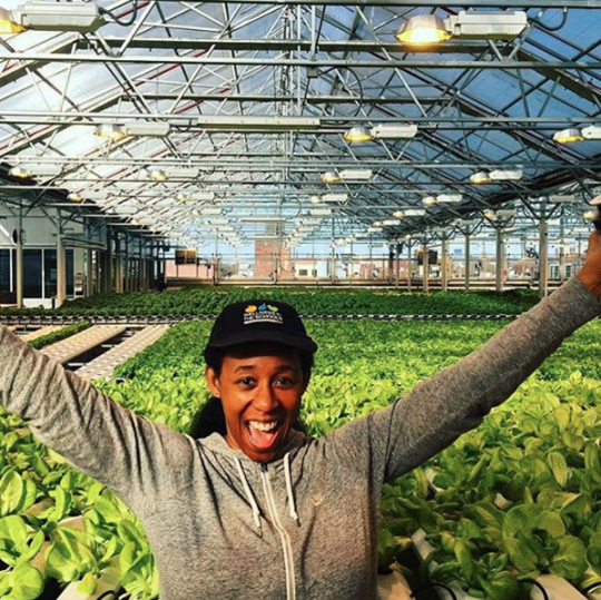 "<p>Run by <a href=""http://gothamgreens.com/"" rel=""nofollow noopener"" target=""_blank"" data-ylk=""slk:Gotham Greens"" class=""link rapid-noclick-resp"">Gotham Greens</a>, which first launched greenhouses in New York (this is it's fourth!), the massive farm sits atop a soap factory on Chicago's South Side. <i>(Photo: <a href=""https://www.instagram.com/gothamgreens/"" rel=""nofollow noopener"" target=""_blank"" data-ylk=""slk:Gotham Greens/Instagram"" class=""link rapid-noclick-resp"">Gotham Greens/Instagram</a>)</i></p>"