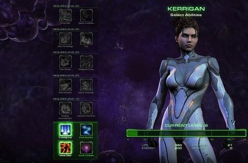 StarCraft 2: Heart of the Swarm trailer shows Sarah's vengeful side