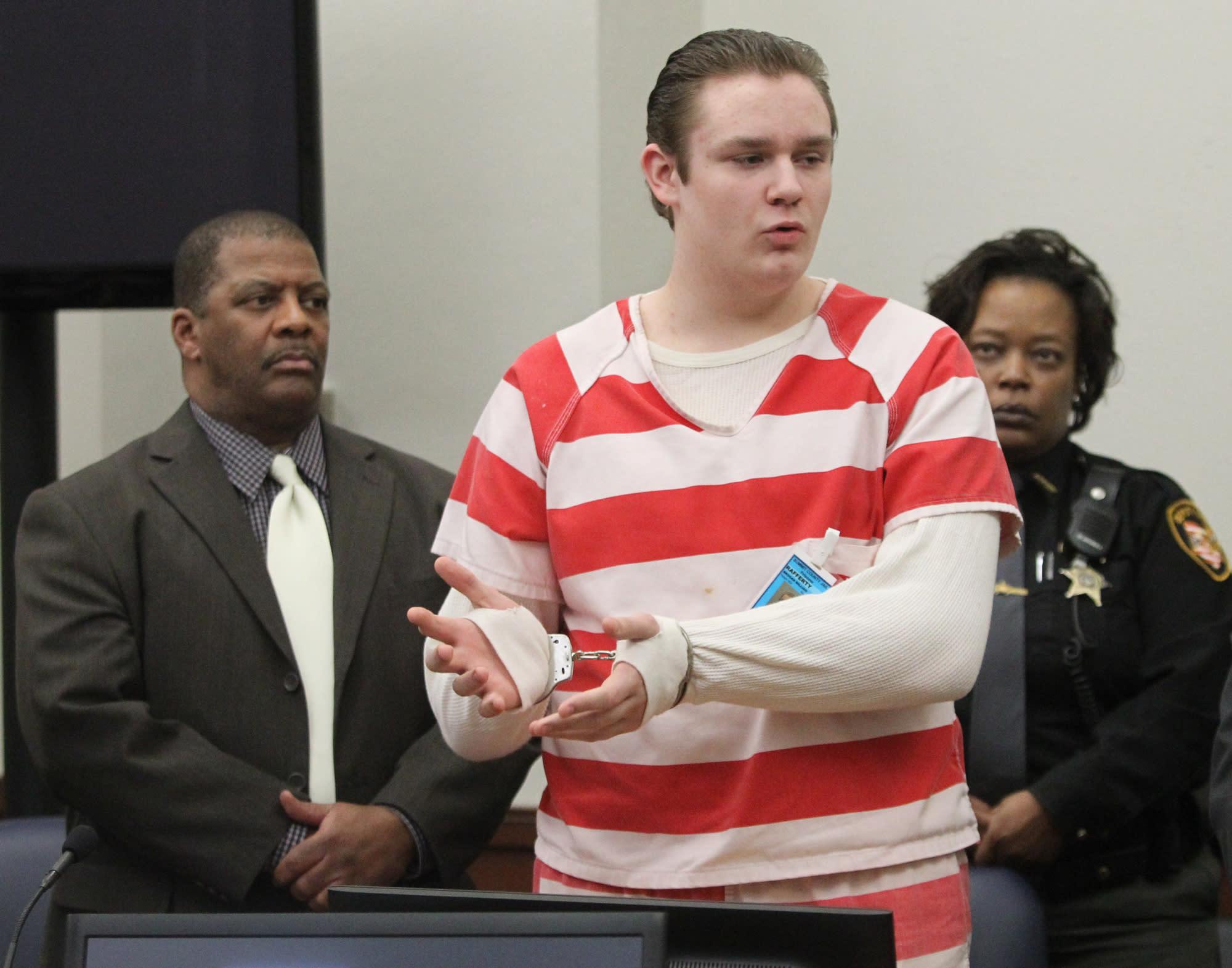 Ohio teen sentenced to life over Craigslist plot