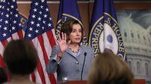 "Pelosi accuses Trump of ""playing politics"" over coronavirus response"