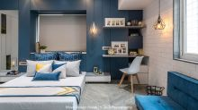 HOME TOUR: A Pune apartment that plays with blue - 2020's Colour of the Year