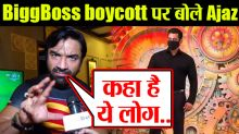 Ajaz Khan's Reaction On Boycott Bigg Boss 14 Exclusive